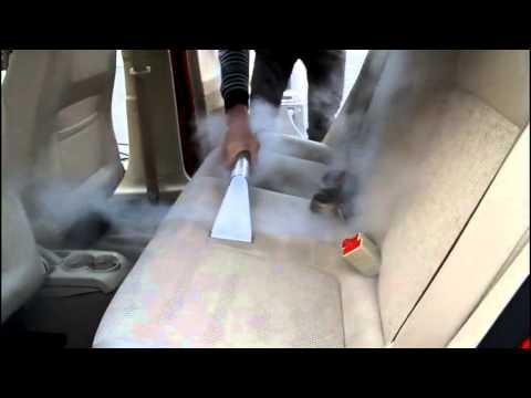 Steam Vacuum Car Interior Cleaning