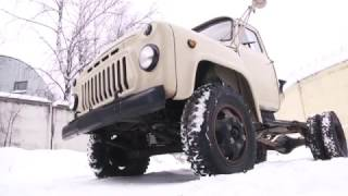 видео ГАЗ-52