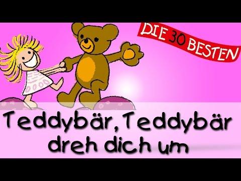 Teddybär, Teddybär, dreh dich um -  Die besten Spiel- und Bewegungslieder    Kinderlieder