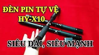 Đèn Pin Tự Vệ Chích Điện HY X10 Loại 1 Cao Cấp, Nói Không Với Hàng Loại Dỡm.