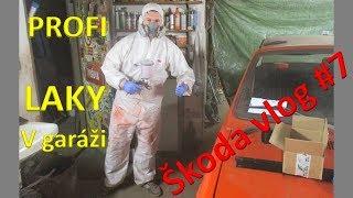 Škoda 120 vlog #7 - Profi lakování v garáži