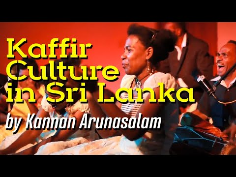 Kaffir culture in Sri Lanka by Kannan Arunasalam