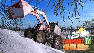 Farming Simulator 17 - Фермер строит БАНЮ! Зима, снег и баня в фермер симулятор 17 Прохождение сезон