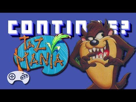 Taz-Mania (GEN) - Continue?