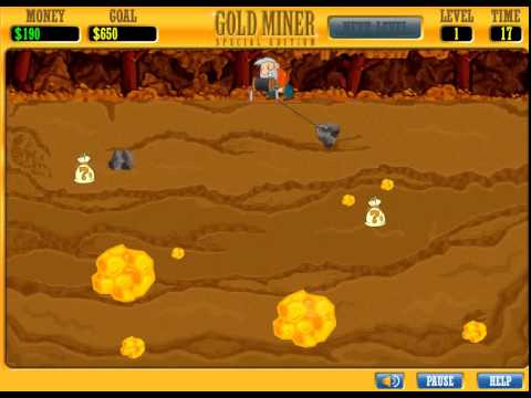 Gold miner special edition gameplay youtube.