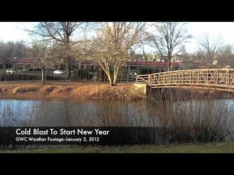 GWC Weather Footage--January 2, 2012--Cold Blast To Ring In New Year