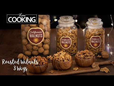 Roasted Walnuts 3 ways | Spiced Walnuts | Honey glazed walnuts | Walnuts with Cinnamon sugar
