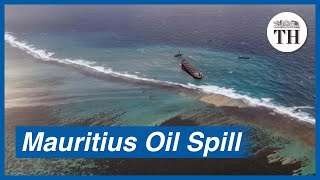 Mauritius struggles to contain massive oil spill in the Indian Ocean