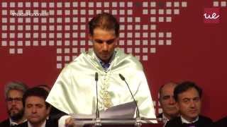 Acto de investidura Doctor Honoris Causa: Rafael Nadal