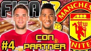 FIFA 17 Manchester United Modo Carrera #4 | TENEMOS PORTERO Y MAS DINERO | CON PARTNER
