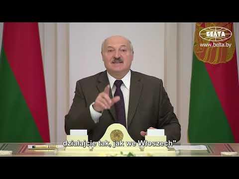 Łukaszenka: Oferowano nam 940 mln dolarów za lockdown.