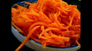 корейская морковка по дюкану без сахара