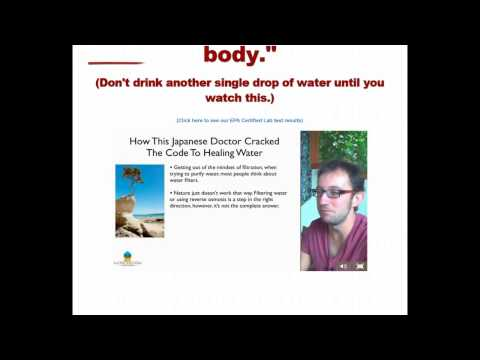 Black Mica Water Purification - Structured Water