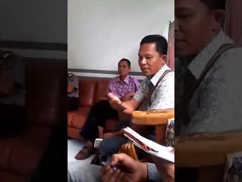 Muspika Hentikan Aktifitas Mobil Pengangkut Batu Gajah di Sawang