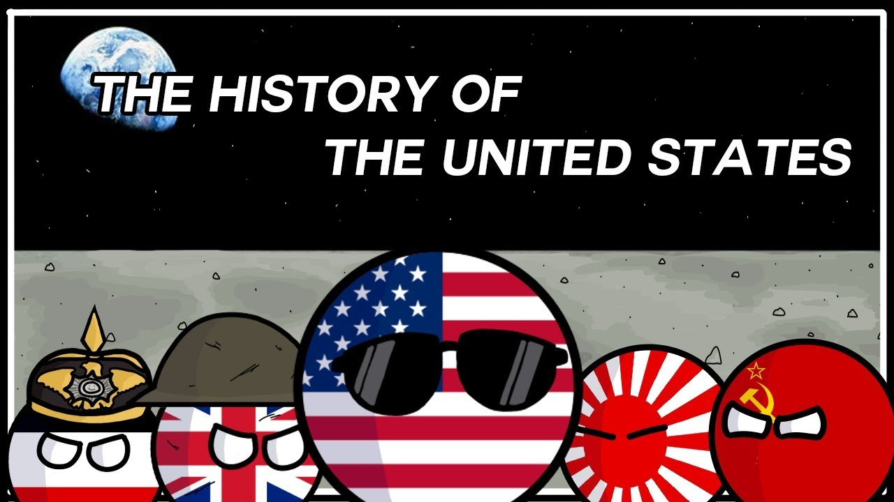America Vs The Usa Usa Poland By Palball Polandball