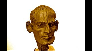 Уроки скульптуры и рисунка: лепка головы человека, часть 1. Набор массы. Схема головы
