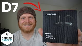 Mpow D7 Headphones Review - Bluetooth Waterproof Earbuds