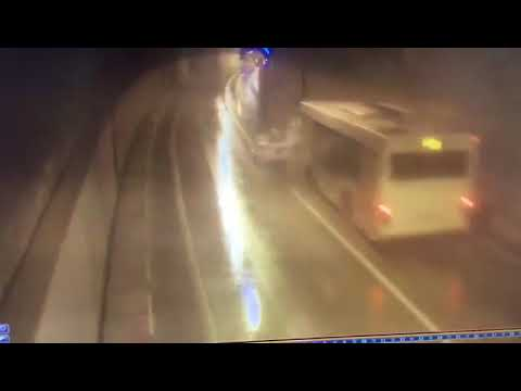 Смертельное ДТП в Сочи. 10.03.18 Водитель погиб, автомобиль разорвало.