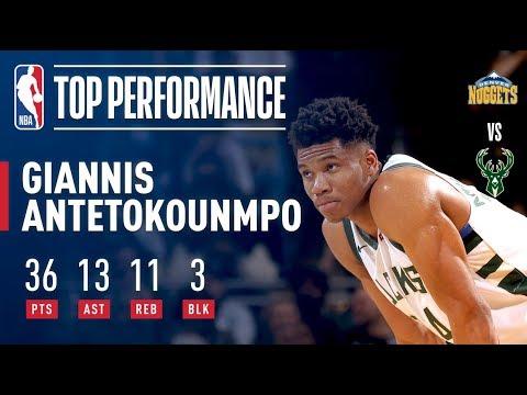 Giannis Antetokounmpo Records His 1st Triple-Double of the Season | February 15, 2018