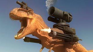 NEW MILITARISED DINOSAUR SIMULATOR!!! | Beast Battle Simulator | Part 1