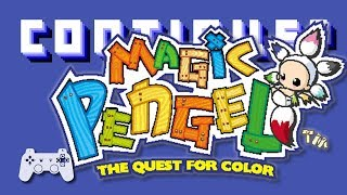 Magic Pengel: The Quest for Color (PS2) - Continue?