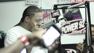 Raw Radio on Power 92 Good Energy Studio Takeover