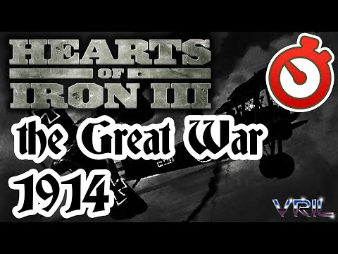 Hearts of Iron 3 - The Great War 1914 Timelapse