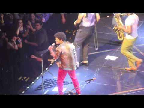 Bruno Mars At The Barclays