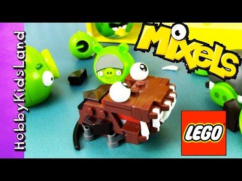 Emmet Gets Eaten by LEGO Mixel! Bad Piggies + Batman Story by ...