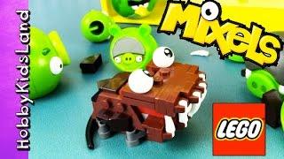 emmet gets eaten by lego mixel bad piggies batman story by hobbypig hobbykidsland