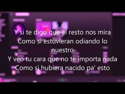 DUKI ft Kea - SHE DON´T GIVE A FO - Letra audio oficial