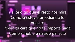 DUKI ft Kea - SHE DON´T GIVE A FO - Letra audio oficial
