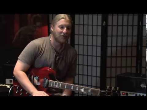 Derek Trucks -- Gibson NYC Interview