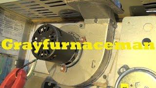 Trane furnace, no inducer,  answer
