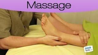 Santé : Massage du pied et de la cheville