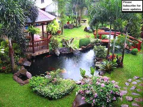 Garden Decoration Design Ideas Pictures YouTube