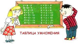 Развивающие уроки и мультфильмы для детей. Арифметика. Таблица умножения