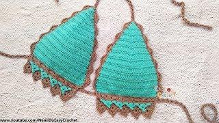 Easy Crochet for Summer: Crochet Bikini Top #09