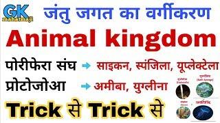 Gk Tricks | Animal Kingdom (जन्तु जगत) Biology gk trick | Science for railway, ssc