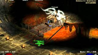 Diablo 2 speedrun - to Baal hell in under 2:30 - Telesorc view