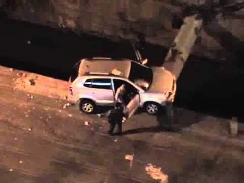 Veículo quase cai no rio Joana - Maracanã/RJ