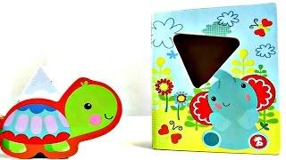 Lehrreicher Kinderfilm - Fisher Price Spielzeug - Wir lernen Figuren und Formen