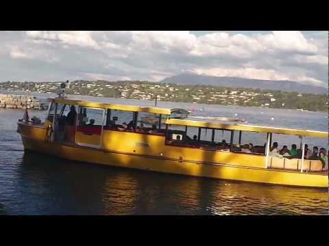 Les Bateaux-taxi en Geneve