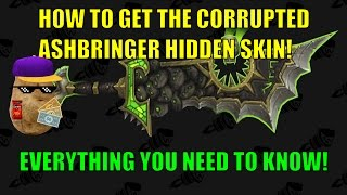All the Steps to Getting the Hidden Ashbringer Skin: Corrupted Remembrance
