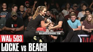 "WAL 503: ""Wonder Woman"" Valerie Beach vs Nancy Locke"