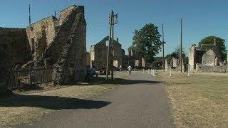 Oradour-sur-Glane: un ancien SS inculpé, le village satisfait - 09/01