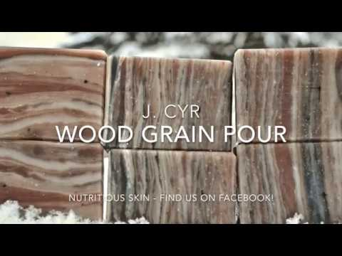 Wood Grain Pour with J. Cyr