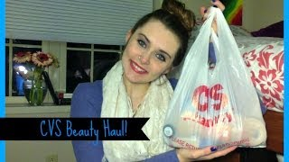 CVS Beauty Haul! || Emma Elizabeth
