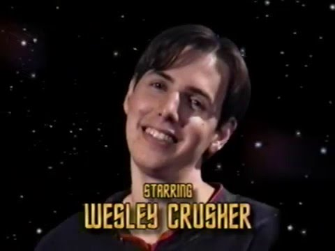Wesley crusher comes out gay