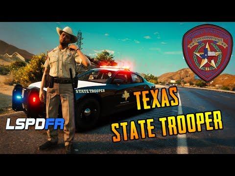 GTA 5 LSPDFR - Texas State Trooper - LIVE RADIO!